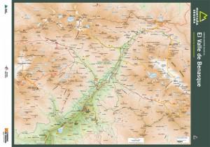 Folleto de ascensiones por el valle de Benasque para excursionistas experimientados. Montaña Segura