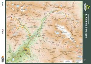 Folleto de excursiones por el valle de Benasque para excursionistas iniciados. Montaña Segura