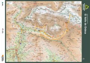 Folleto de excursiones por el valle de Ordesa. Montaña Segura
