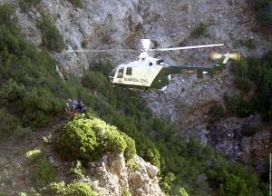 Helicóptero Guardia Civil de Montaña