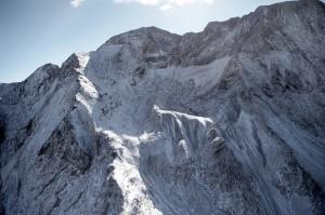 Primeras nevadas en el Pico Posets