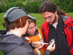 Usando GPS