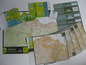 mapas y folletos Montaña Segura