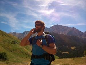 Llamada 112 en montaña